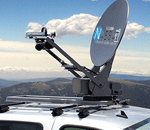 Satellite communication for UAVs