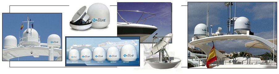 Maritime satellitt Internett