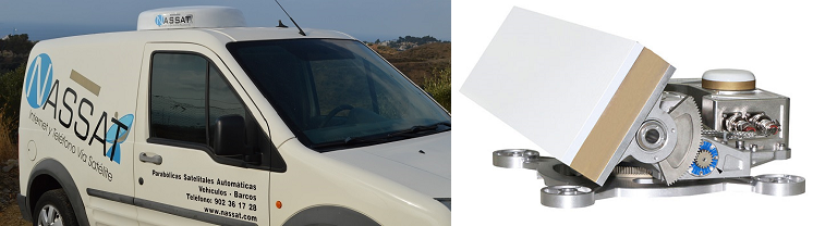 Driveaway Mobile Satelliten Internet